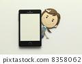 纸工艺智能手机 8358062