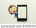 纸工艺智能手机 8358063