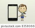 纸工艺智能手机 8358066