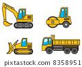 重型機械 矢量 建築機械 8358951