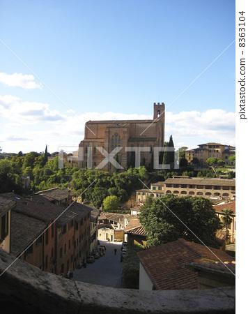 Scenery of Siena 8363104