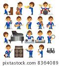 musician, musicians, vector 8364089