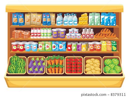 Supermarket. 8379311