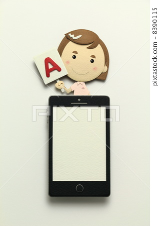 Paper craft smartphone 8390115