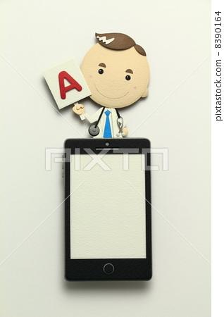 Paper craft smartphone 8390164