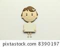Paper craft nurse 8390197