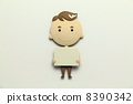 A paper craft salaried worker 8390342