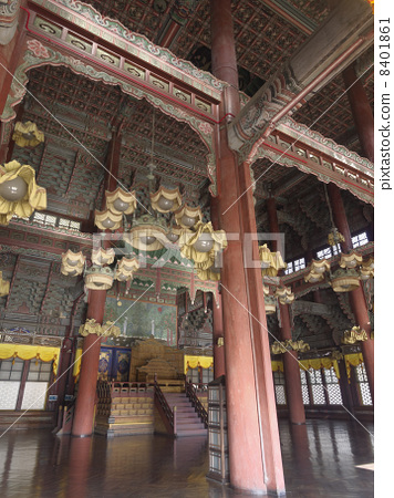 Inside of Jung dynasty of Changdeokgung (Injeongjeong) Inside 8401861