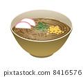 tanuki, soba, noodles 8416576