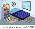 臥室 臥房 家具 8417205