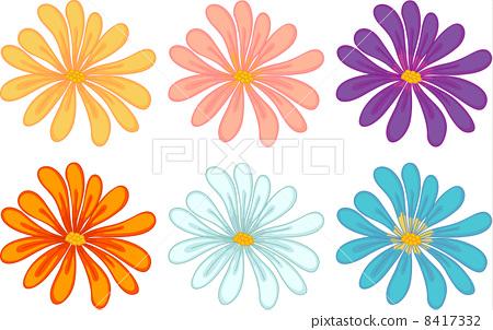 flowers set 8417332