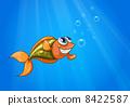 graphic illustration fish 8422587