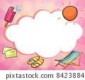 Different symbols for summer 8423884