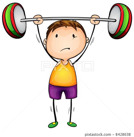 weight lifter 8428638