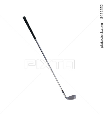 Golf club isolated over a white 8431352
