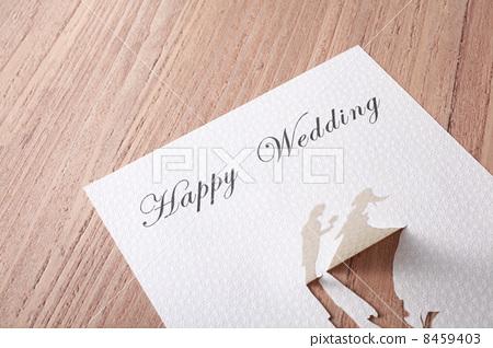 Wedding invitation card 8459403