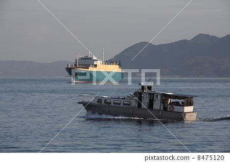 廣島港口馬自達汽車載體導航汽車船 8475120
