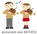 小提琴表演 8475652