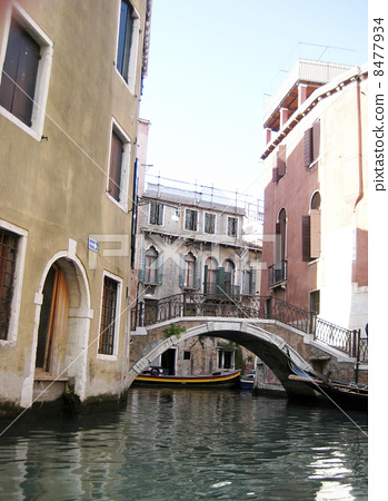 From the waterway of Venice 8477934