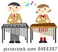 金屬和木琴表演 8488387