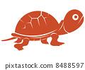 Turtle - vermillion 8488597