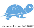 Turtle - Blue 8488602