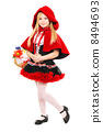 Little girl with basket 8494693