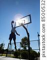 Basketball Dunker Silhouette 8500532