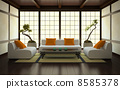 Interior in Japanese style 8585378