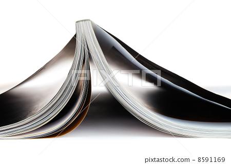 Magazine isolated on white background 8591169
