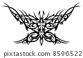 Flaming butterfly 8596522