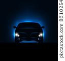auto, headlight, transport 8610254