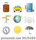 Travel icons 8625086