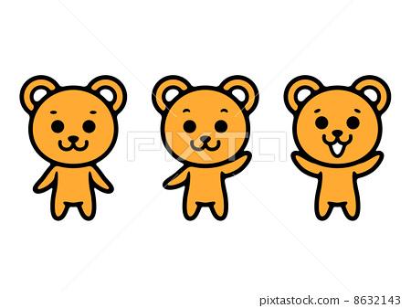 곰의 일러스트 8632143