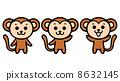 Monkey illustrations 8632145