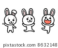 rabbit, vector, vectors 8632148