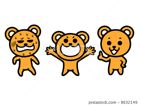 熊剪贴画 8632149