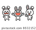 rabbit, vector, vectors 8632152