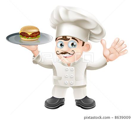 Cheeseburger chef 8639009
