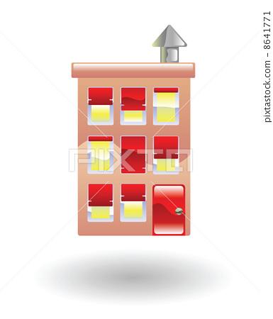 flats Illustration 8641771