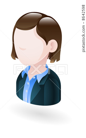 businesswoman illustration 8642598