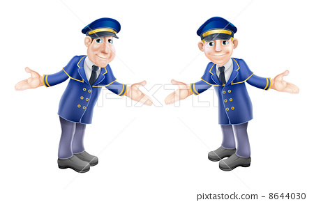 Doormen or bellhops 8644030