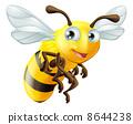蜜蜂 矢量 矢量图 8644238