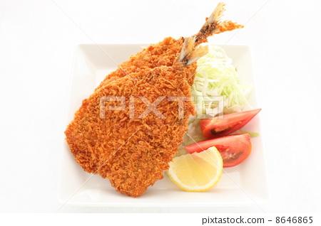 deep-fried horse mackerel 8646865