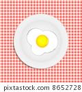 Fried eggs vector illustration 8652728