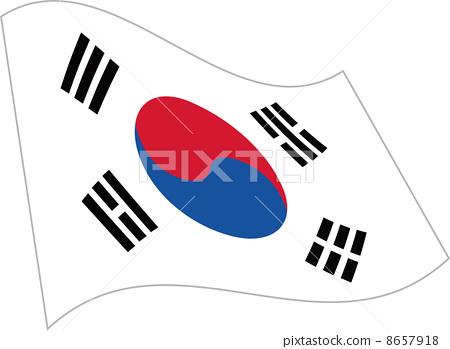 韩国国旗 8657918