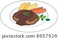 汉堡牛排 8657926