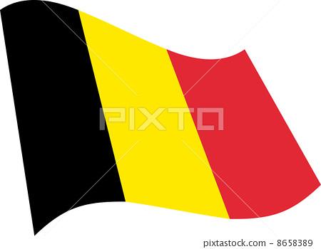 比利時國旗 8658389
