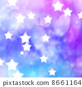 Purple, blue-based light gradation and stars 8661164