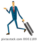 a, suitcase, business 8661189